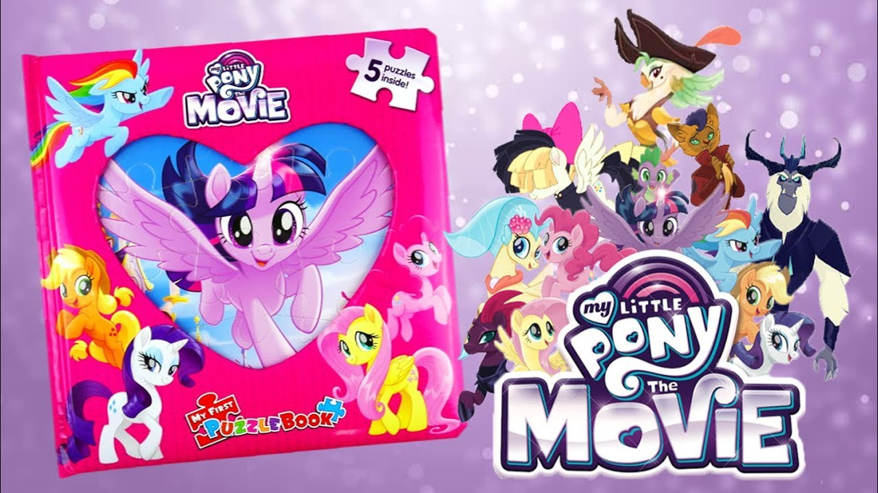 My Little Pony Movie 2017 Activity Book - MLP My First Puzzle Book