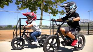 IRONe Electric Balance Bikes by StaCyc