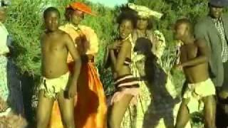 Botswana_Culture spears_Remmogo