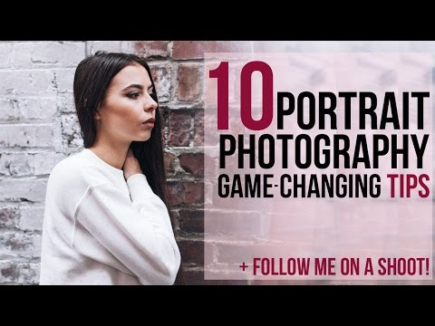 10 PORTRAIT PHOTOGRAPHY TIPS NO ONE ELSE WILL TELL YOU | 50mm natural light outdoor session