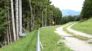 preview picture of video 'מגלשה אלפינית - Hallein - Bad Dürrnberg - אוסטריה'