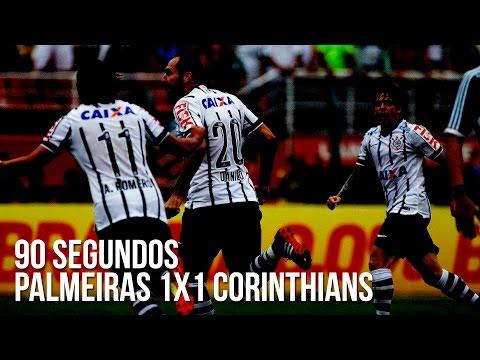 90 segundos | Palmeiras 1x1 Corinthians