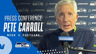 Pete Carroll Week 4 Postgame 2020 Press Conference at Dolphins