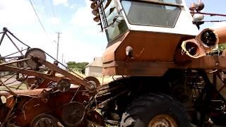 мини трактор sf 244 ремонт рулевой , решета УВР