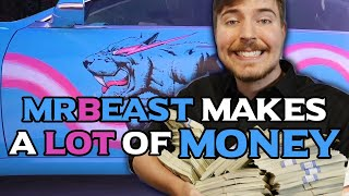 How much money does @MrBeast  make on YouTube 2019
