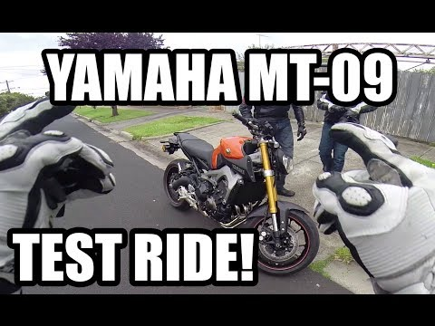 Yamaha MT-09 Test Ride Review!