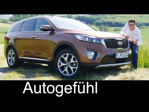 All-new Kia Sorento 2016 FULL REVIEW test driven - Autogefühl