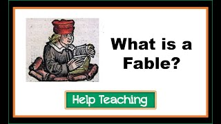 Reading Lesson: What is a Fable?