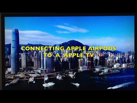 Apple Airpods Pairing & Connecting With Apple TV