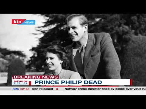 Buckingham Palace announces death of Prince Philip | Bottomlina Africa