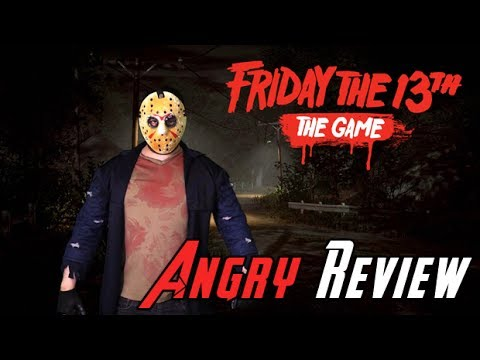 Friday The 13th: The Game Angry Review - YouTube video thumbnail