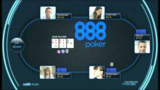 888 Poker - The Only Way To Play Face To Face Online Poker