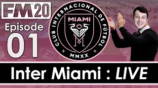 Inter Miami LIVE   The MLS Draft   Football Manager 2020   #1