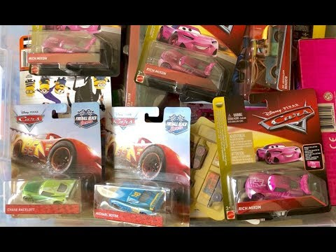 100 Disney Cars Toys Collection - New Unopened Disney Cars Private Collection 🔴 Live Show