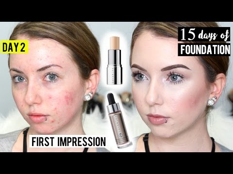 COVER FX COVER CLICK Foundation & Custom Enhancer Drops {Review & Demo} 15 DAYS OF FOUNDATION