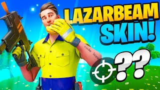 Getting Lazarbeams RECORD Fortnite game!