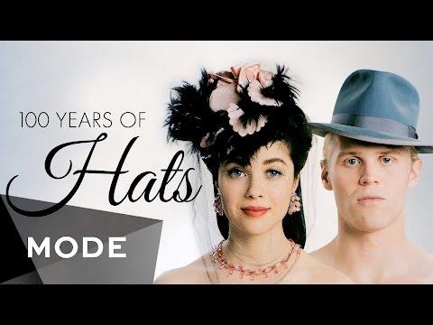 Thời Trang Qua 100 Năm: Mũ (Hats)