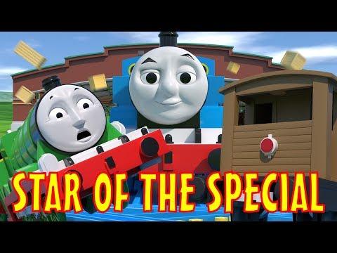 TOMICA Thomas & Friends Short 49: Star of the Special (Journey Beyond Sodor Crash Parody)