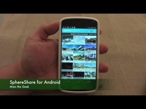 Video of SphereShare.net