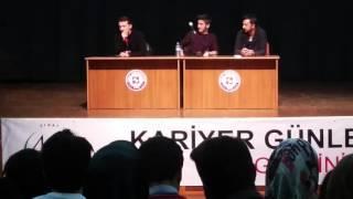 Fırat Üniversitesi Kariyer Günleri - Twitter Fenomenleri Söyleşisi