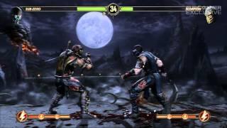 Mortal Kombat 9 'Sub-Zero vs Scorpion Gameplay' TRUE-HD QUALITY