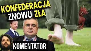 Ludzie PIS Już Szkalują Konfederację – Sakiewicz Wytrzymał Tylko Kilka Godzin – Analiza Komentator