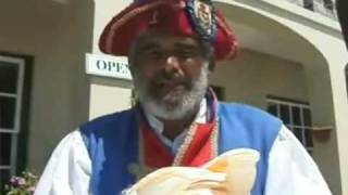 preview picture of video 'St. George's Town Crier Bermuda'