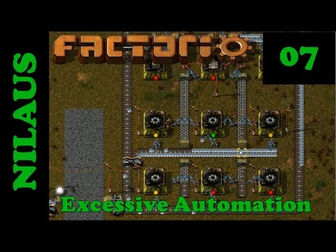 Factorio - Vanilla done right - E07 - Array for Belts and