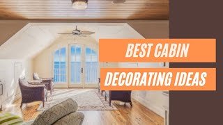 25+ Best Cabin Decorating Ideas On A Budget - Small Cabin Decorating Ideas #208
