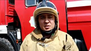 Последствия пожара торгового дома «Триумф» в Кокшетау