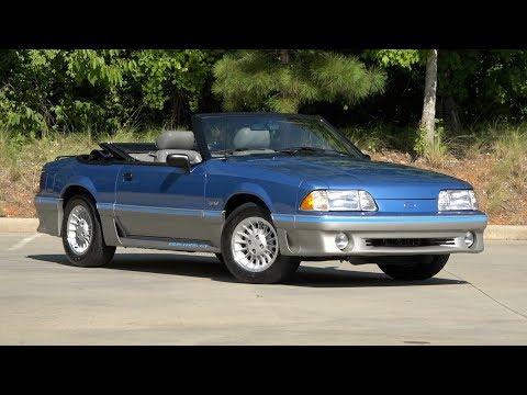 Video of '89 Mustang - NVUN