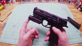 NCSTAR Tactical Flashlight Review Quick Release for airsoft pistols bb gun