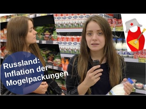 Russland: Inflation der Mogelpackungen [Video]