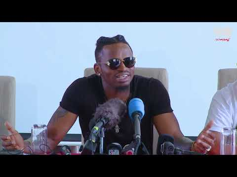Diamond Platnumz- PRESS CONFERENCE NAIROBI ( CLIP 2)