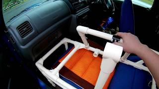 車中泊ベッドが完成したり(ショートVer)/ついに実践開始か?