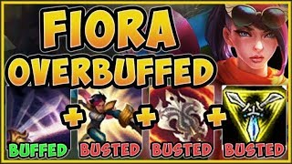 WTF! RIOT 100% WENT TOO FAR WITH FIORA E BUFF! FIORA SEASON 9 TOP GAMEPLAY! - League of legends