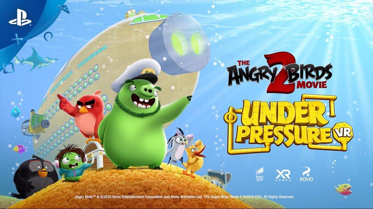 O Game de The Angry Birds Movie 2 Chega ao PS4 em 6 de Agosto