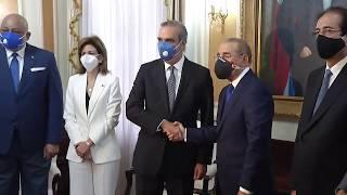 #EnVivo Presidente Medina recibe a Luis Abinader 8/7/2020