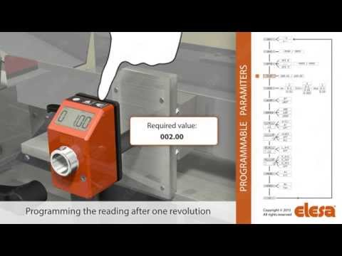 Electronic Position Indicators Elesa make