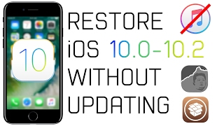 I want to restore my ipod touch without updating