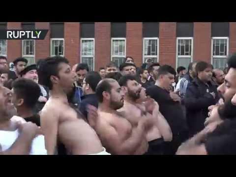 العرب اليوم - شاهد: لحظة دخول مسلح على بنك كويتي واستيلائه على مبالغ مالية