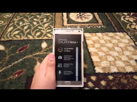 Bronze Gold Galaxy Note 4 Unboxing & 1st Look(4K)