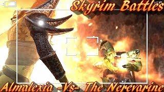 Skyrim Battles - Almalexia -Vs- The Nerevarine Legendary Settings