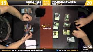 Grand Prix Charlotte 2015 Finals: Michael Malone (Elves) vs. Wesley See (U/R Twin)