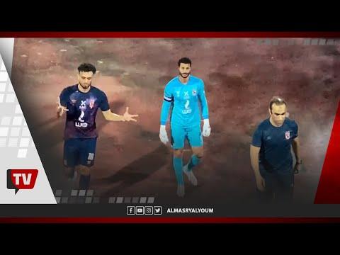 الحزن يخيم على لاعبي الأهلي.. وأحد الجماهير لعبد الحفيظ :«الدوري راح يا كابتن سيد»