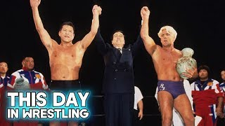 This Day In Wrestling: WCW/NJPW Present Collision In Korea (April 28th)