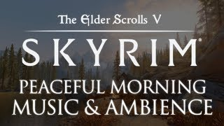 The Elder Scrolls: Skyrim Music & Ambience   | Sleep Relaxation and Focus