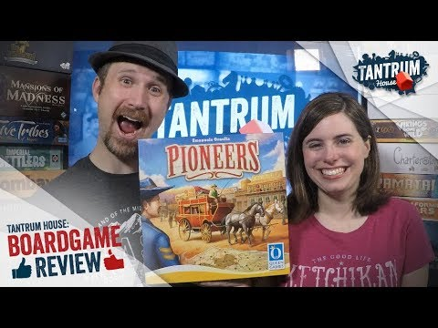 Pioneers Board Game Review with Tantrum House