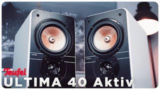 Teufel Ultima 40 Aktiv 2019   Was ist neu?   Klangtest & Vergleich 2017er Modell