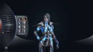 Queens Blade 1st CBT - Character Customizing